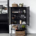 Wire Cabinet Black