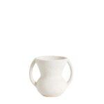 White Pot Small w/ Handles
